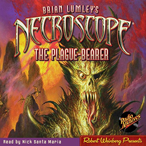 Necroscope #2: The Plague-Bearer audiobook cover art