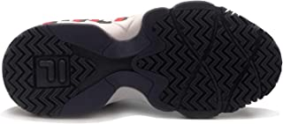 Fila Men's MB Prespective Fashion Sneakers White Navy Red