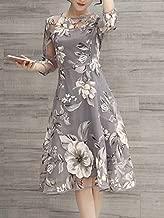 فستان سهرة طويل نسائي بدون اكمام من اوبرا ، متعدد الالوان ، 40 ، 30019483-2