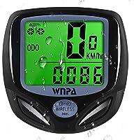WNPA Cykeldator trådlös, cykelhastighetsmätare vattentät 16 funktioner dometer LCD-skärm för cykling
