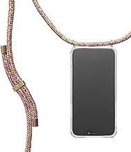 KNOK Handykette Kompatibel mitApple iPhone XR- Silikon Hülle mit Band - Handyhülle für Smartphone zum Umhängen - Transparent Case mit Schnur - Schutzhülle mit Kordel in Unicorn
