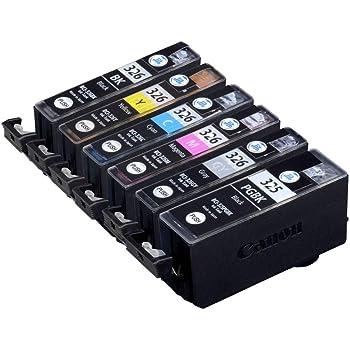【Amazon限定ブランド】ジット 日本製 キヤノン(Canon)対応 リサイクル インクカートリッジ BCI-326+325/6MP 6色セット対応 JIT-NC3253266P