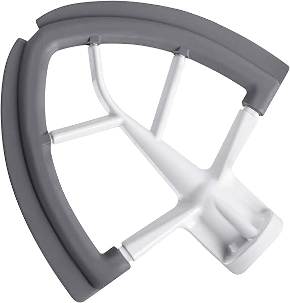 Flex Edge Beater For KitchenAid Tilt Head Stand Mixer 4 5 5 Quart Flat Beater Blade With Flexible Silicone Edges Bowl Scraper