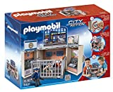 PLAYMOBIL - Cofre cuartel de Policía, Juguete Educativo, Multicolor, 35 x 10 x 25 cm,...