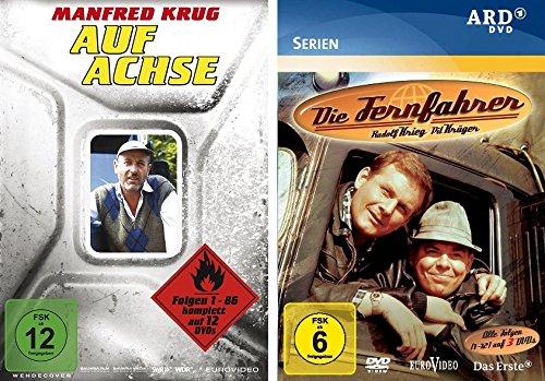 Auf Achse - Gesamtbox + Die Fernfahrer - komplette Serie im Set - Deutsche Originalware [15 DVDs]