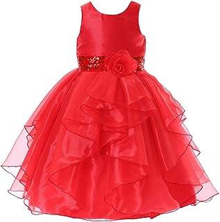 Bow Dream Flower Girl Dress Organza