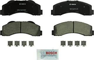 Bosch BC1414 QuietCast Premium Ceramic Disc Brake Pad Set For: Ford Expedition, F-150; Lincoln Navigator, Front