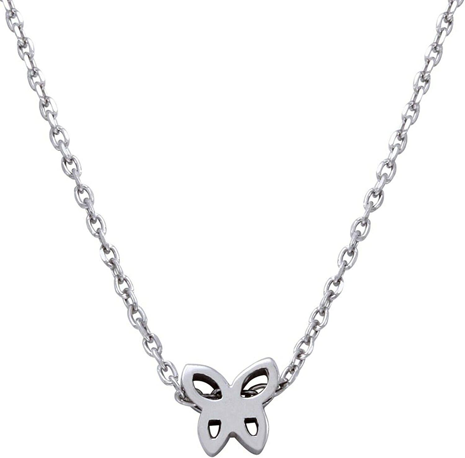 Indi Lowest price challenge New mail order Gold Diamond Jewelry Created Butterfly Nec Pendant Dainty
