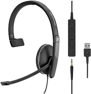 Sennheiser SC 135 USB (508316) - Auriculares monoaurales para profesionales de negocios | con sonido estéreo HD, micrófono...