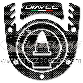 Sticker 3D Compatible with Fuel Cap Ducati Hypermotard /& Hyperstrada
