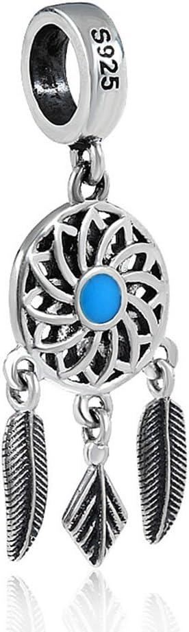 cz DREAM CATCHER Charm Trends Of London\u2122 925 Sterling Silver /& Cubic Zirconia