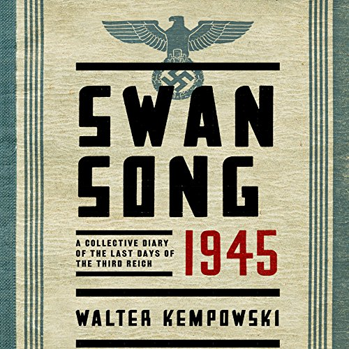 Swansong 1945 audiobook cover art