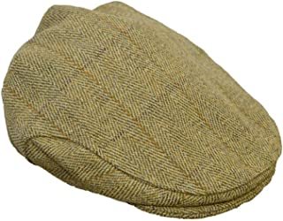 Walker and Hawkes Men's Ladies Derby Tweed Flat Cap Hunting Shooting Countrywear Hat