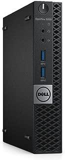 Dell OptiPlex 5050 Micro Form Factor (Intel Quad Core i5-6600T 2.7 GHz, 16GB RAM, 500GB) Windows 10 Pro (Renewed)