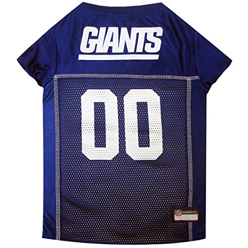 NFL NEW YORK GIANTS DOG Jersey, Medium Shirt Apparel Jersey for DOGS or CATS & Small Pets