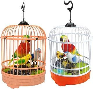 YeahiBaby Juguete de Jaula de Pájaros Juguete Sonidos y