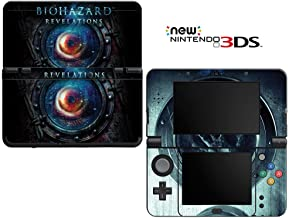 Resident Evil Revelations Decorative Video Game Decal Cover Skin Protector for New Nintendo 3DS (2015 Edition)