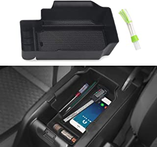 VANJING Center Console Insert Organizer Tray Replacement Compatible for 2015-2019 Chevy Colorado GMC Canyon Accessories with A Cleaner Brush