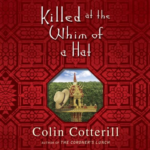 Killed at the Whim of a Hat audiobook cover art