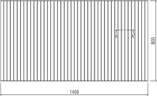 LIXIL INAX 風呂巻フタ 幅1,469×奥行800mm:BLS80146-K (風呂ふた、フロふた、風呂蓋)
