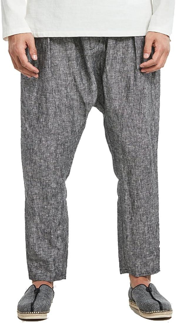 Kung Fu Smith Classic Tai Chi Linen latest gift Trouser Capris Pants Harem