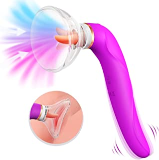 Clitoral Sucking Licking Vibrator, G Spot Tongue Vibrator...