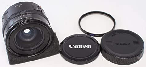 $299 » Canon EF 24mm f/2.8 Wide Angle Lens for Canon SLR Cameras (Discontinued by Manufacturer) (Renewed)