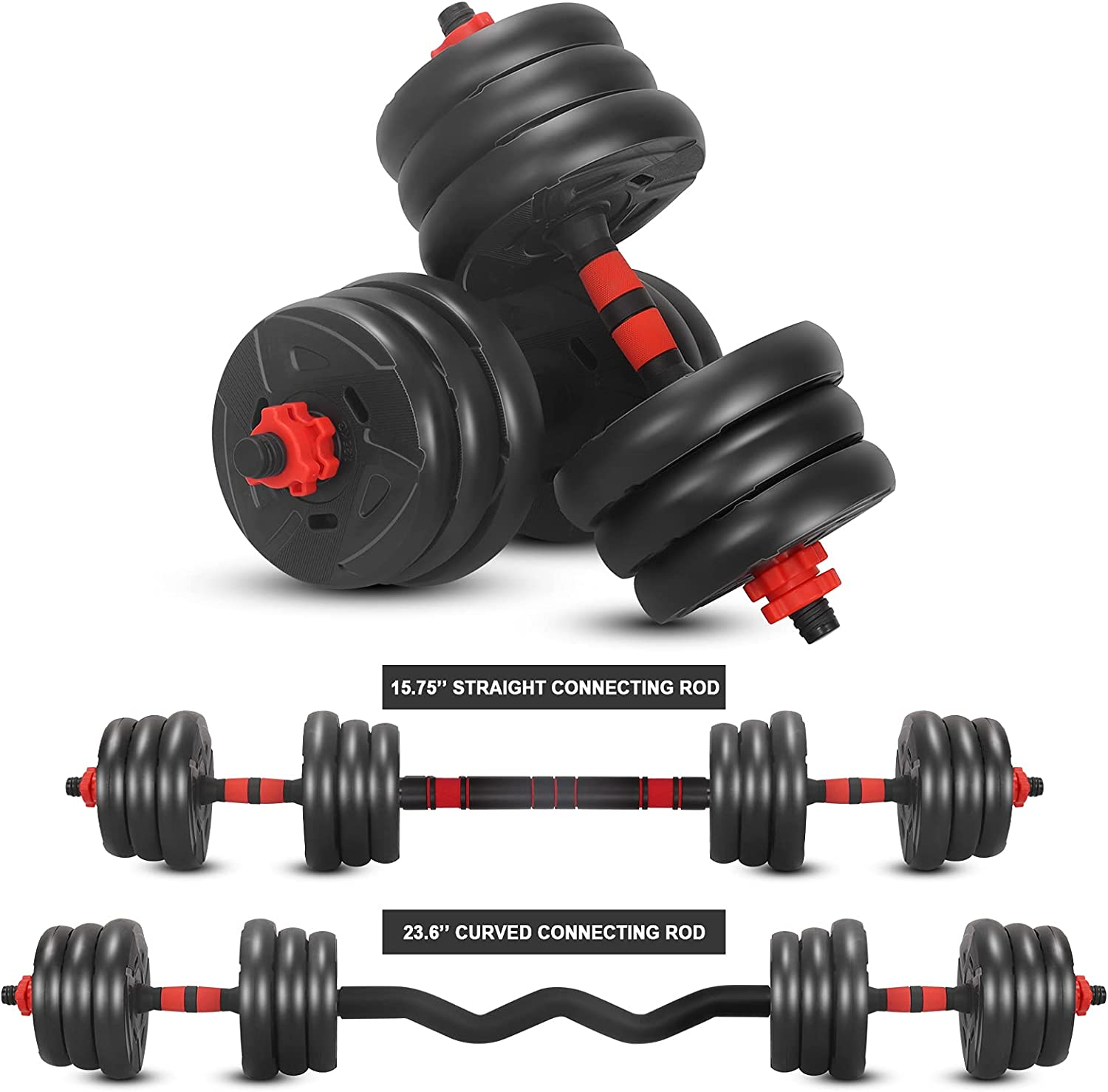 SOFUWG Dumbbell Sets Discount is also Ranking TOP5 underway 5.5~44 lbs 4 Adjustable 1 in Set