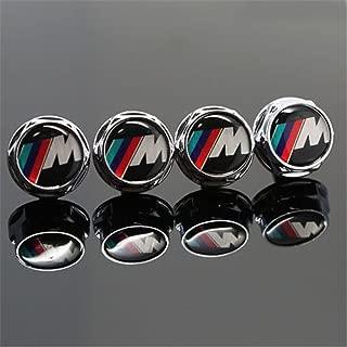 4 tornillos de fijaci/ón para matr/ícula de coche para Nissan Porsche All Car Bestmay