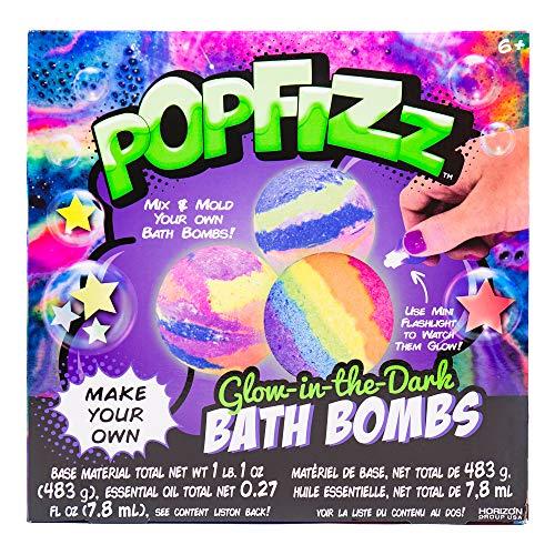 Pop Fizz Glow-in-the-Dark Bath Bombs