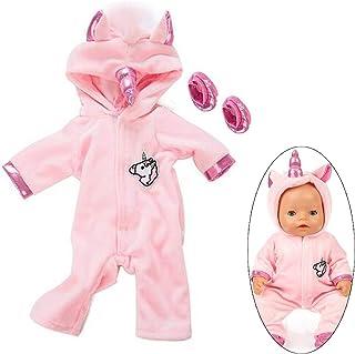 comprar comparacion Ouinne Uinicornio Ropa Trajes Vestidos para Muñecas de Bebé en Tamaño 17-18