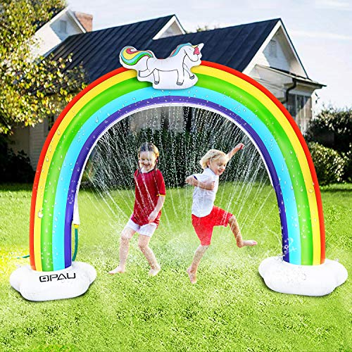 (50% OFF) Rainbow Sprinkler for Kids $9.99 Deal
