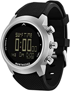 Men Diver Watch Waterproof 100m Smart Digital Watch Sport Military Army Diving Altimeter Barometer Compass Clock North Edge