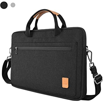 Laptop Shoulder Bag for 16-inch MacBook Pro 2019, 15 Inch MacBook Pro Retina, Waterproof Laptop Carrying Case for Dell XPS 15, 15 Inch Microsoft Surface Book 2,ThinkPad X1Extreme Gen 2 (black)