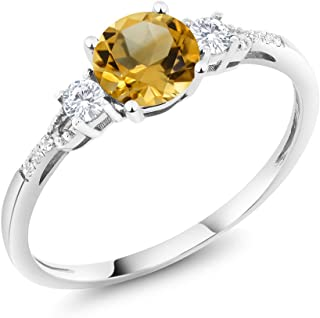 Best citrine rings white gold Reviews