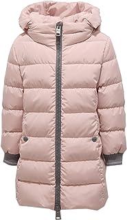 Herno 9849Z Piumino Lungo Bimba Girl Pink Jacket