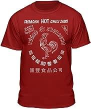 Sriracha Official Hot Chili Sauce Men's Graphic T-Shirt