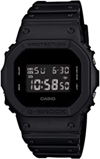 Casio G-Shock Men's Digital Dial Resin Band Watch - DW-5600BB-1DR