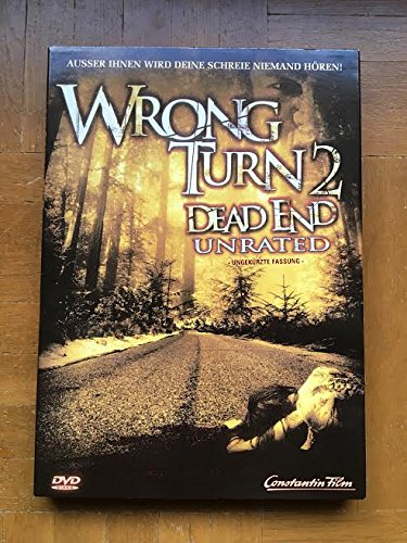 Wrong Turn 2 - Dead End - Unrated - Mediabook Edition DVD - Blu-ray