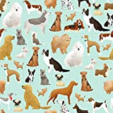 Best in The Show Dog Gift Wrap Roll - 24' x 15'