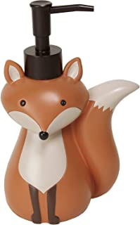 Mainstays Kid's Lotion or Soap Dispenser Pump Woodland Creature Fox Animal for Kitchen, Bathroom or Baby Nursery