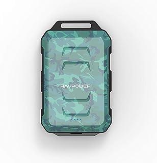 RAVPower Waterproof, Dustproof and Shockproof Power Bank 10050mAh Offline Packaging - Comouflage