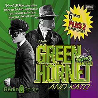 The Green Hornet and Kato cover art