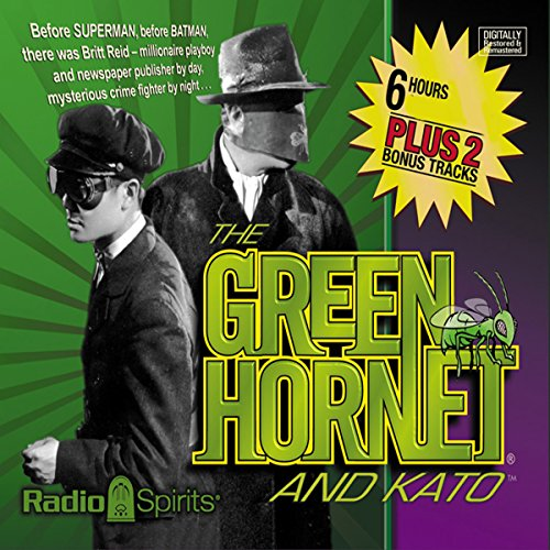 The Green Hornet and Kato audiobook cover art
