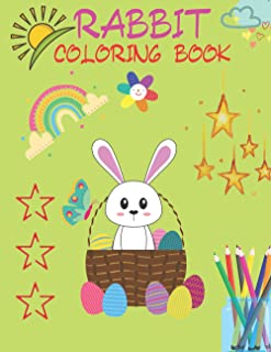 Rabbit Coloring Book: The Tale of Peter Rabbit Coloring Book | for Kids, Children, Teens, Preschooler | Velveteen Rabbit C...