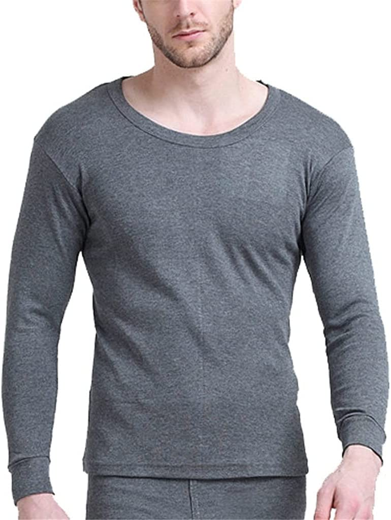 GELTDN Autumn Winter Fleece Thermal Underwear 5XL 6XL 7XL 8XL 9XL 10xl Bust 150-180cm Plus Size Warm Large Size Men Long Johns (Color : D, Size : 8XLcode)