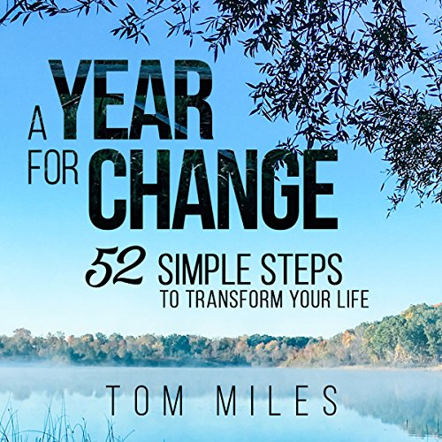 A Year for Change audiobook cover art