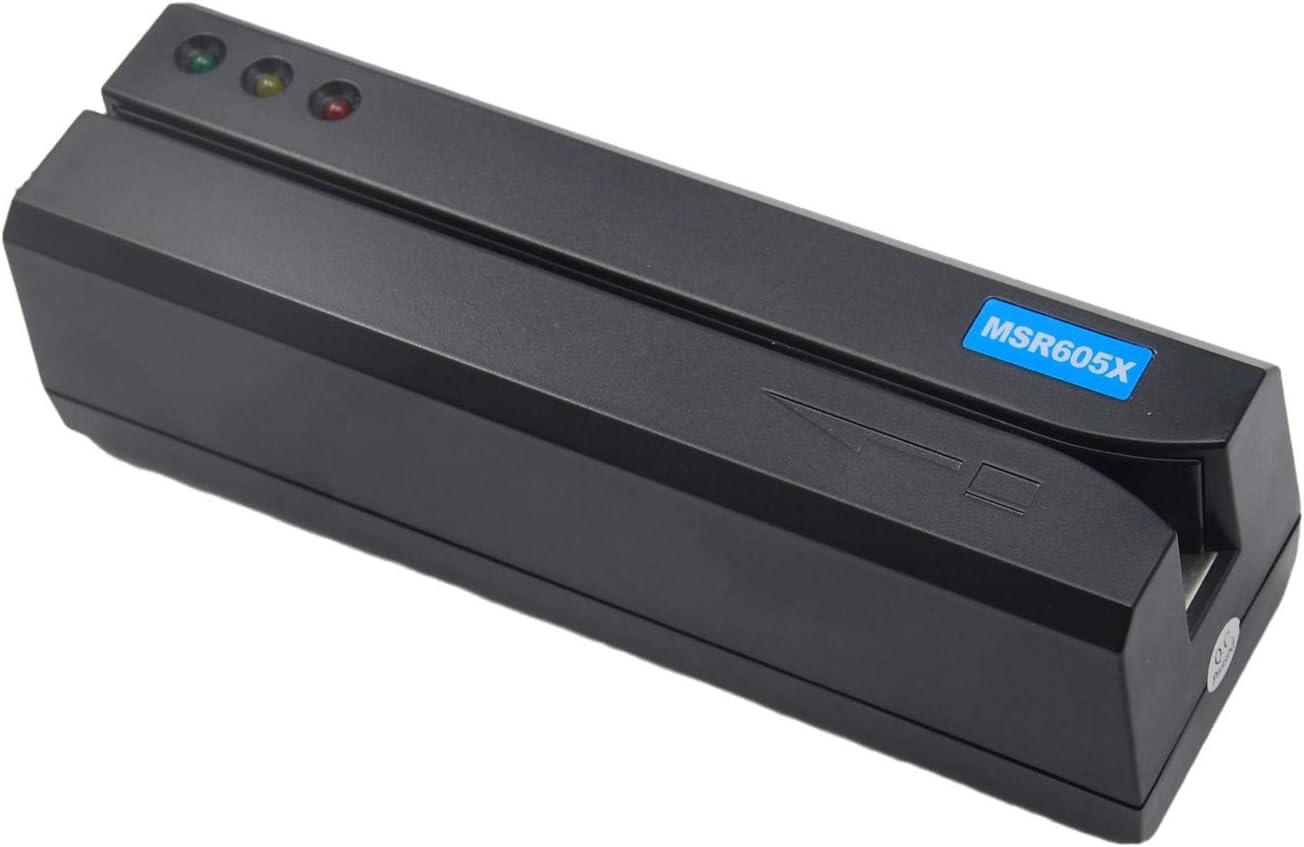 Deftun Card Reader Writer USB Encoder Tracks 3 MSR605X Import Sale Swipe