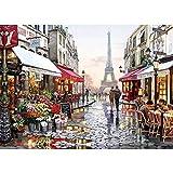 Puzzle de 1000 Piezas - Romantic Paris - Adultos, Adolescentes, niños, Rompecabezas Grande, Juguetes, Regalo, Educativo, Intelectual, descompresión, Divertido Juego Familiar
