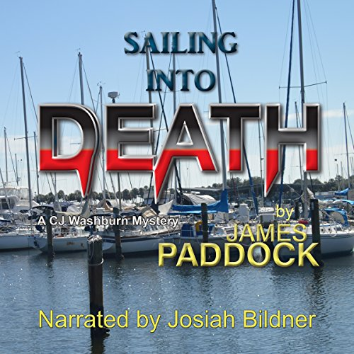 Sailing into Death audiobook cover art